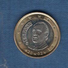 Espagne - 2002 - 1 euro - Pièce neuve de rouleau -