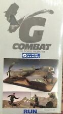 GUNZE SANGYO G-COM 22 - G COMBAT SERIES - RUN CRASHED Me 109G-10 1/35 RESIN KIT