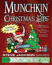 Munchkin: Christmas Lite Adventure Card Game by Steve Jackson Games  SJG1532