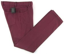 New KITON Italy Classic Five Pocket Cashmere Cotton Purple Jeans 48/32 NWT $795!