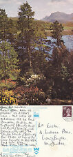 1975 BEINN AIRIGH CHARR ROSS SHIRE SCOTLAND COLOUR POSTCARD