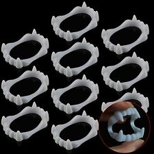 Lot of 30 Vampire Teeth Scary Fangs Costumes Halloween Props Fancy Dress Party