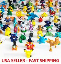 40 pcs Pokemon Monster Mini Figures Cake Toppers Party Favors, Pikachu *RANDOM*