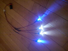 RC coche carro Led Kit De Luz Ultra Brillante Grande 10 Mm Led Hpi Traxxas Blue & White