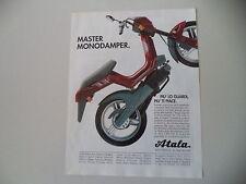 advertising Pubblicità 1993 ATALA MASTER 50 LF MONODAMPER