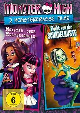 MONSTER HIGH-2 MONSTERKRASSE FILME  DVD NEU