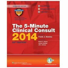The 5-Minute Clinical Consult 2014, Standard Edition, Jeremy Golding, Jill A Gri