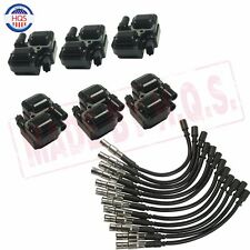 Spark Plug Ignition Wires & Set Of 6 UF-359 For Mercedes-Benz C CL CLK ML Class
