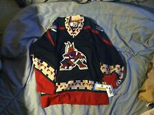 Phoenix Coyotes NHL Black Hockey Jersey KOHO Size Youth L/XL NEW NWT