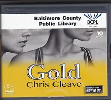 Gold by Chris Cleave (2012, CD, Unabridged) Women's Fiction 2012 Olympics