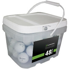 48 Taylormade Lethal Mint Recycled Used Golf Balls *In a Free Bucket!*