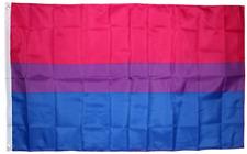 3x5 Bisexual Flag Banner Grommets Transgender BI Gay Pride Lesbian Rainbow