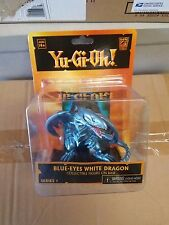 Yu-Gi-Oh Blue Eyes White Dragon Diorama with Collectible Action Figure New NECA