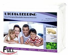 KING Hypoallergenic Waterproof Mattress Protector - Utopia Bedding