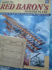 BUILD THE RED BARON'S FIGHTER PLANE FOKKER DR1  HACHETTE  ISSUE 69  NEW SEALED