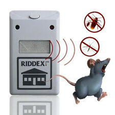New Ultrasonic Plug in Mice Mouse Rodent Rat Spider Ant Repeller Pest Control