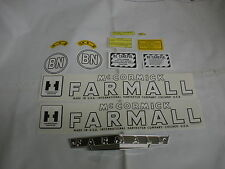 IHC International Farmall Model BN Tractor Decal Set & Front Emblem  FREE SHIP