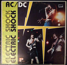 AC/DC Electric Shock 2LP live rare album 1980 PL-09 WL-09 ANGUS YOUNG BON SCOTT