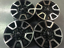 "TOYOTA TUNDRA TRD 18""  OEM FACTORY WHEELS ONLY  RIMS NO TIRES (SET OF 4)"