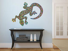 "Psychedelic Gecko Vinyl Wall Decal Graphics 24""x22"" Bedroom Home Decor"