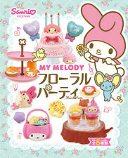 Re-ment My Melody Floral Party, Box of 8