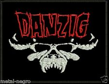 DANZIG EMBROIDERED PATCH HEAVY MISFITS MOTORHEAD PENTAGRAM SAMHAIN Metal Negro