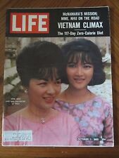 Life Magazine Vietnam Climax Mme Nhu and Her Daughter Le Thuy October 1963