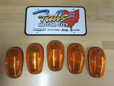 Dodge Ram 1500 2500 3500 Amber Running Roof Cab Clearance Light Lens Set OEM