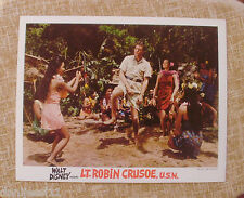 LT. Robin Crusoe, U.S.N., 1966, Walt Disney Lobby Card, Walt Disney Productions