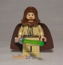Lego Qui-Gon Jinn from Set 7665 Republic Cruiser Minifigure BRAND NEW sw172a