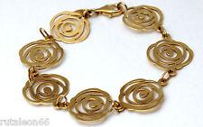 TOUS pulsera oro 18Kt. colección Rosa de Abril (gold 750 bracelet)