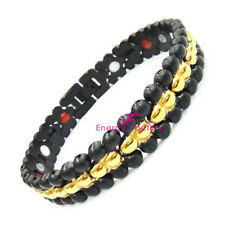 Strong Magnetic Bracelet 4in1 Elements FIR ANION GERMANIUM Bio Wristband