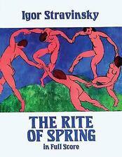 The Rite of Spring in Full Score Dover Music Scores