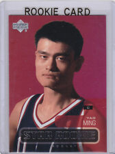 YAO MING Houston Rockets 2002/03 ROOKIE CARD Upper Deck STAR RC China NBA HOFer!