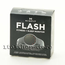 Misfit Wearables Flash Black Fitness and Sleep Monitor Steps Calories Tracker