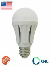 2x ZHL 12 Watt Super Bright LED Bulb Daylight White 75W Incandescent Replacement