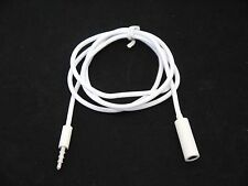 3.4FT 3.5mm Male to Female Phone MP3 Tablet Audio Headphone Extension Cord Cable