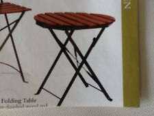 Wood And Iron Patio Table Better Homes & Gardens Home Interiors & Gifts GTC NIB