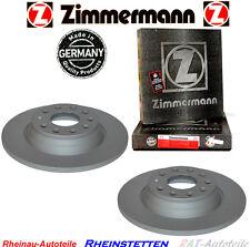 2xZimmermann Bremsscheiben Hinten AUDI A6 4F2,C6 Avant 4F5,C6 ab 2.0 bis 4.2 Lit