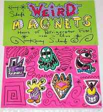 KENNY SCHARF SEALED 1987 WEIRD MAGNET SET PRINT POP ART banksy kaws keith haring