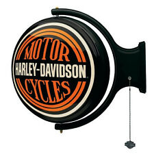 Harley-Davidson Motorcycle Collectible Wall Mount Rotating Pub Light HDL-15622