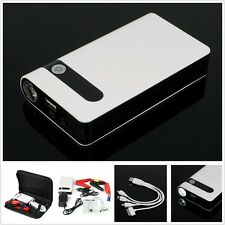 12V Portable 10000mAh Car Jump Starter Pack Booster Battery Power Bank Charger