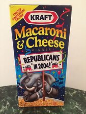 Kraft Republican Macaroni & Cheese from 2004 Republican Convention in NYC