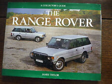 Range Rover Collector's Guide 1987 by James Taylor