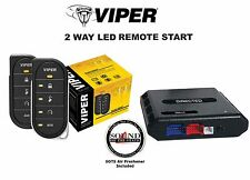 Viper 4806V 2 Way LED Remote Start with DBALL2 Bypass Module Interface Included