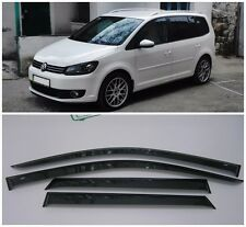 For VW Touran 2010-2015 Side Window Visors Sun Rain Guard Vent Deflectors