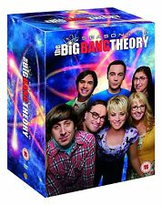 The Big Bang Theory Season 1 + 2 + 3 + 4 + 5 + 6 + 7 + 8 DVD Box NEU Staffel 1-8