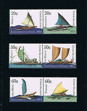 Cook Islands Sailing Ships of the Pacific Stamps
