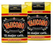CAFE YAUCONO PUERTO RICAN COFFEE 2 BAGS 14 OZ EACH