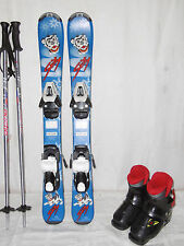 "TECNO "" SKITTY "" SKI JUNIOR ALLROUND CARVER 80 CM + SKISCHUHE GR.: 28 IM SET"